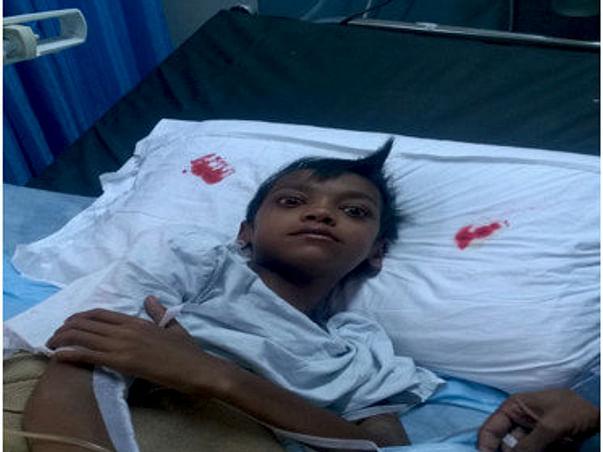 URGENT HELP CANCER PATIENT MASTER JAI GUPTA 12 YR