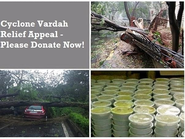 Cyclone Vardah Appeal – Help Needed.