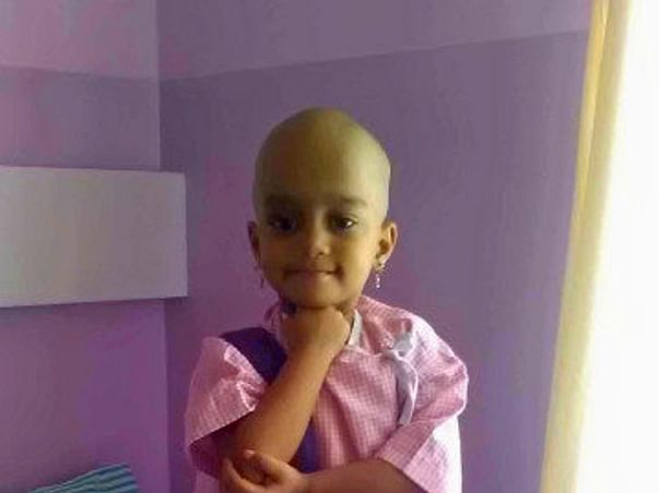Save 3-year-old Yashasvi from terminal cancer