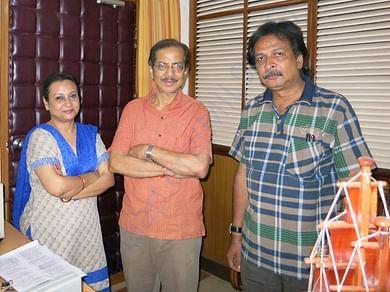 Namrata Mohanty, Devdas Chhotray and Nitya Sriranjan
