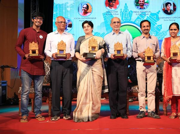 Help Namma Bengaluru Awards honor the outstanding citizens of the city