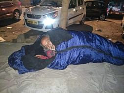 Your Support Can Warm Up Delhi. Contribute To 'Project Sleep Well'.