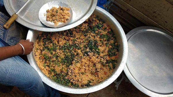 food - vegetable rice
