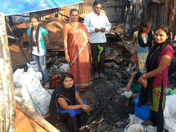 Their house was burnt, let's not burn their hopes!