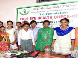 Help School Girls Undergo Eye Health Checks