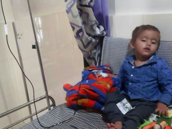 Help little Aadarsh To live His Life Without Thalassemia