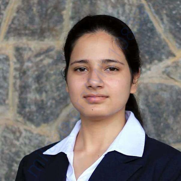 Chandani Agrawal MBA student At IIM Khozikode