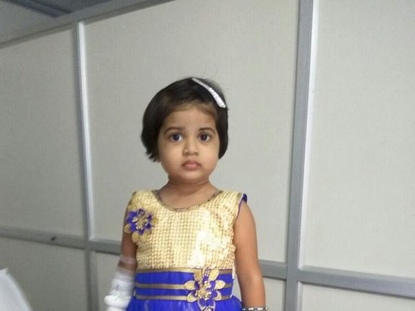 SUPPORT SHANVIKA OUR LITTLE ANGEL,FOR HER TREATMENT