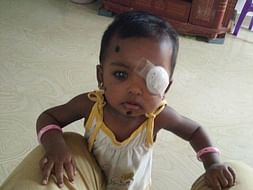 Give Baby Tanmayi the gift of Vision and Sight