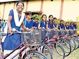 Sponsor underprivileged girls for BIKEATHON
