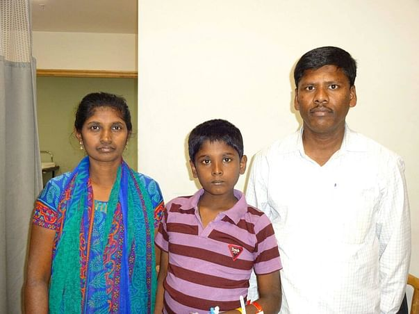 Support 13-Year-Old Roopesh Undergo a  Liver Transplant