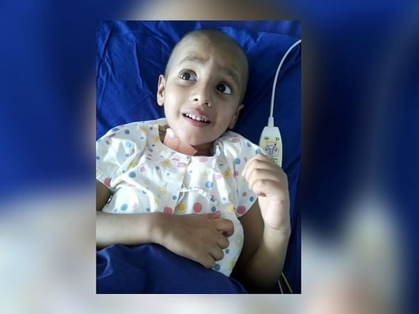 Save 4-Year-Old Atherva From An Aggressively Growing Cancer