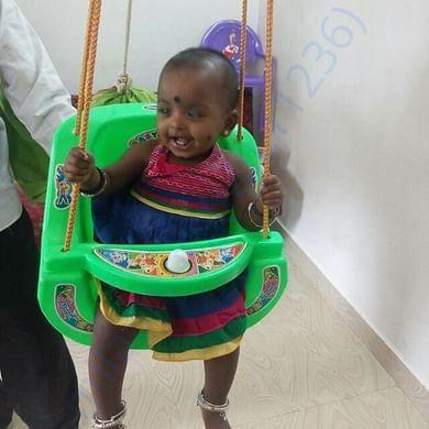 Baby Tanmayi before surgery