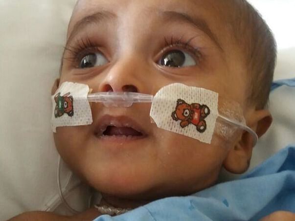 This 7-month-old baby is unable to Breathe