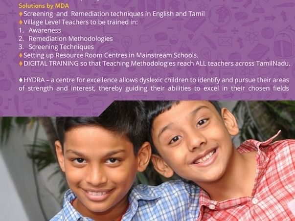 Help us provide Education to children with Dyslexia