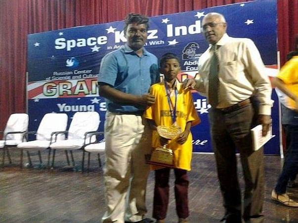 Help Young Jayakumar Make His Way To Russia