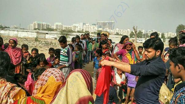 Cloth donation drive, Gurugram