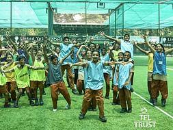 Help 100 underprivileged children participate in Football League