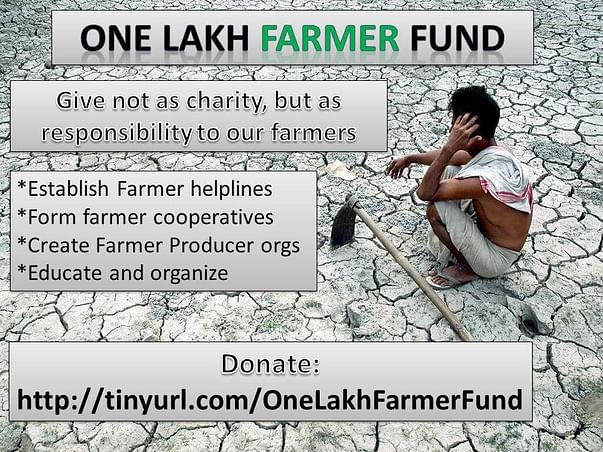 One Lakh Fund for Farmers