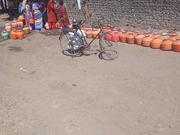 Inspire drought affected farmers of Halgara (Latur) Village.