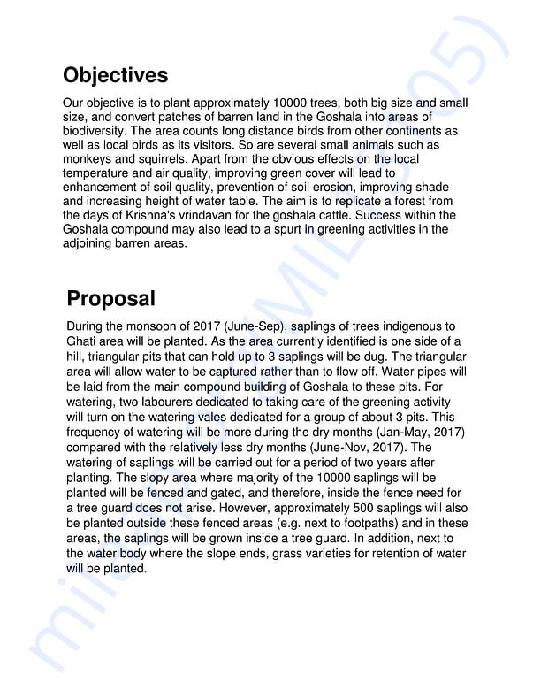 Project Report Page 3