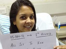 Help Shilpa fight Breast cancer