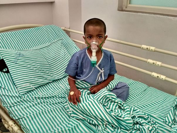 Help Thivyak get treatment for Thalassemia