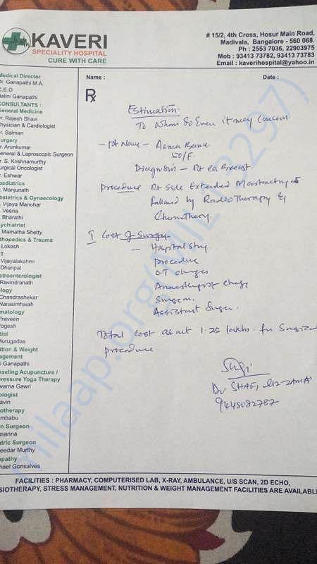 Doctors letter 1