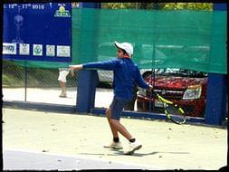 Help Mustafa become an individual tennis grand slam winner and gold.
