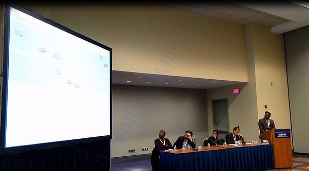 PIC DURING MY PRESENTATION AT CONFERENCE IN WASHINGTON D.C