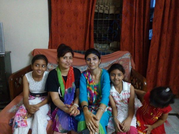 mother and daughter reconcile  after 6 years because of Counselling