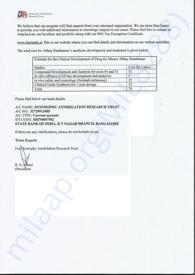 DART estimate page 2