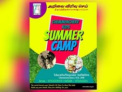 Help Us Arrange A Summer Camp For Kids Of Chemmenchery