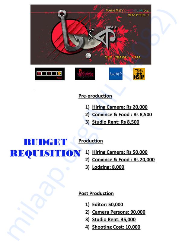 Budget Requisition