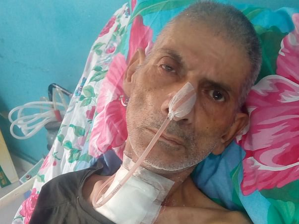 Help Makhan LAL Fight paralysis