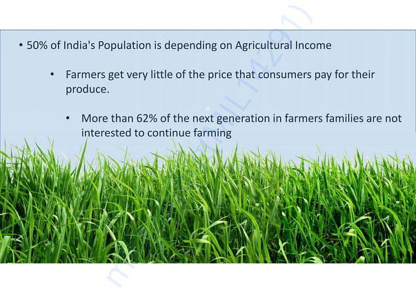 Indian Agriculture Scenario