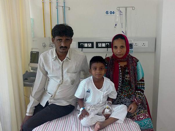 Baby Joyeb has a single kidney and needs your help