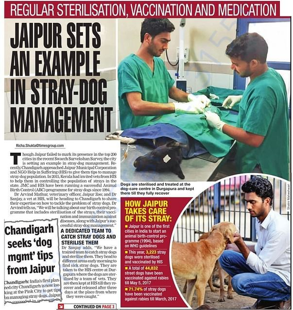 Media Coverage in Times of India,Jaipur