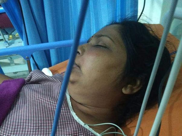 My mom surgery for fungal infection and pitutary gland enlargement