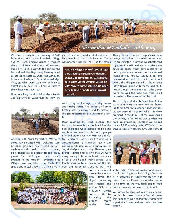 ShramaDaan @ Ambale Village - 20 May