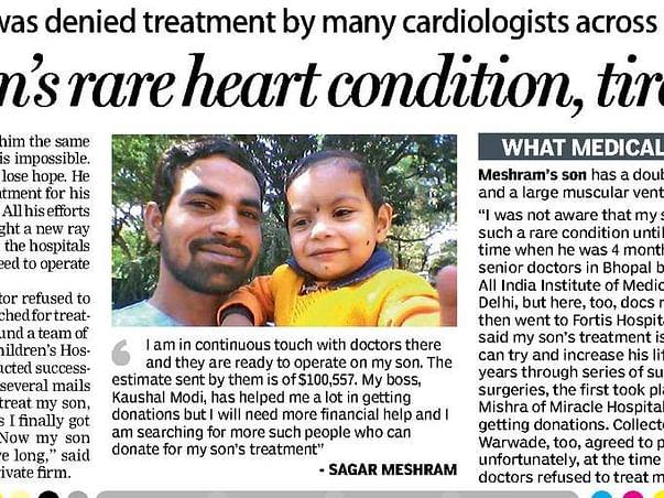 #HelpSavePriyanshu