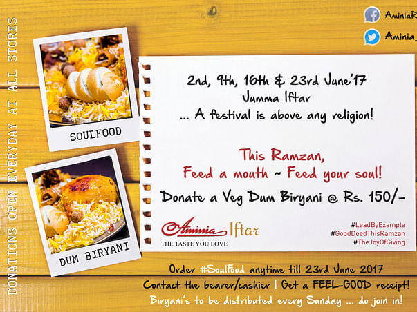 Help Feed A Mouth This Ramzan! #FestivalsAreForEveryone