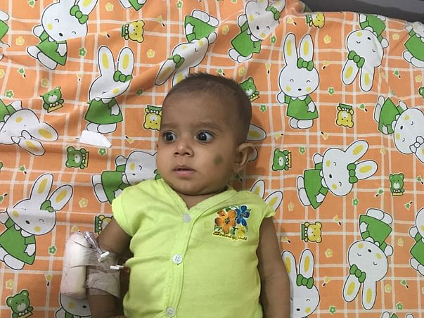 Aysha rizwa is suffering from Severe combined immune deficiency