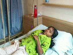 AKSHITA IS SUFFERING FROM PURE RED CELL APLASIA