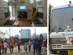 Education On Wheels For Slum Children