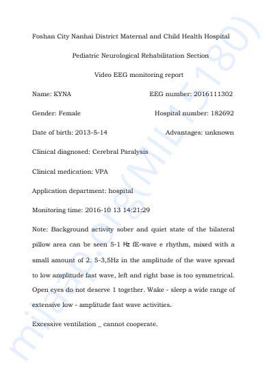 EEG Report 2016