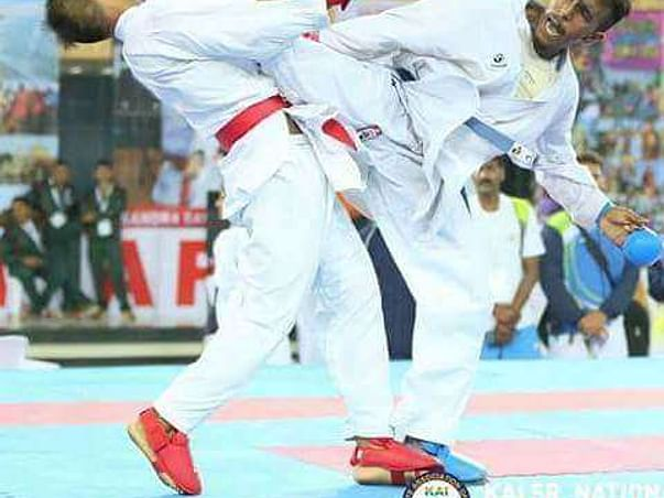Help Sharath compete in the Asian Karate Championship