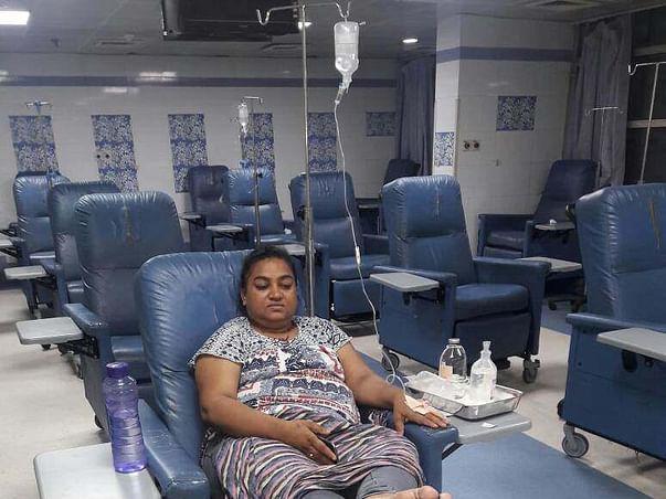 Help Jorgeena Fight Third Stage Cancer