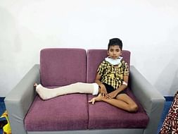 10-year-old Naren Thinks His Cancer Is A Blood Clot Which Will Go Away