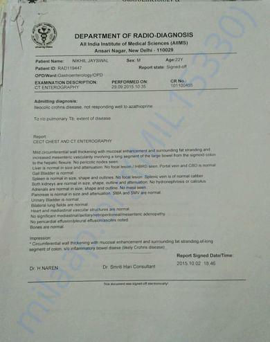 Medical Record - 11